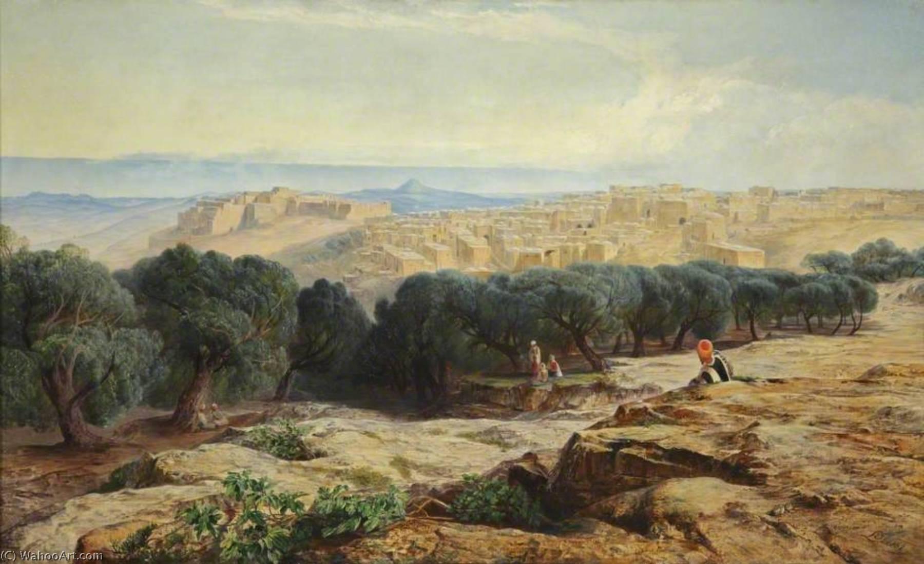 WikiOO.org - Enciclopedia of Fine Arts - Pictura, lucrări de artă Edward Lear - Bethlehem