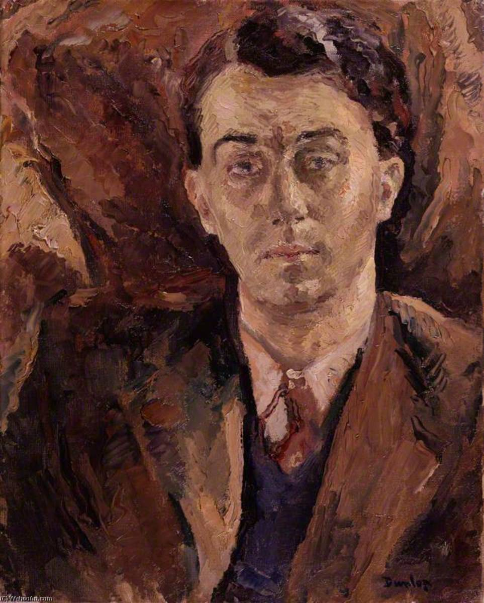 Wikioo.org - The Encyclopedia of Fine Arts - Painting, Artwork by Ronald Ossory Dunlop - (George) Emlyn Williams