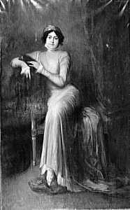 Portrait de l'actrice Jeanne Hato