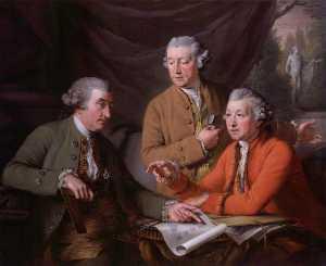 Sir William Chambers Joseph Wilton Sir Joshua Reynolds