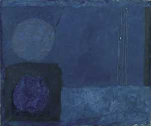 Blue November Painting 1963