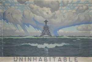 'There is no uninhabitable unnavigable' (triptych, centre panel)