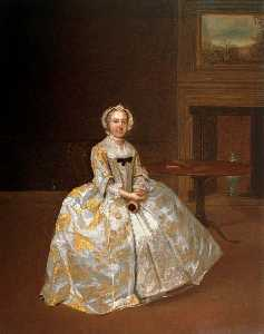 Portrait of a Woman in an Interior