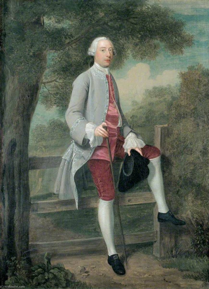 Wikioo.org - The Encyclopedia of Fine Arts - Painting, Artwork by Arthur William Devis - Edward Payne (1716–1794)