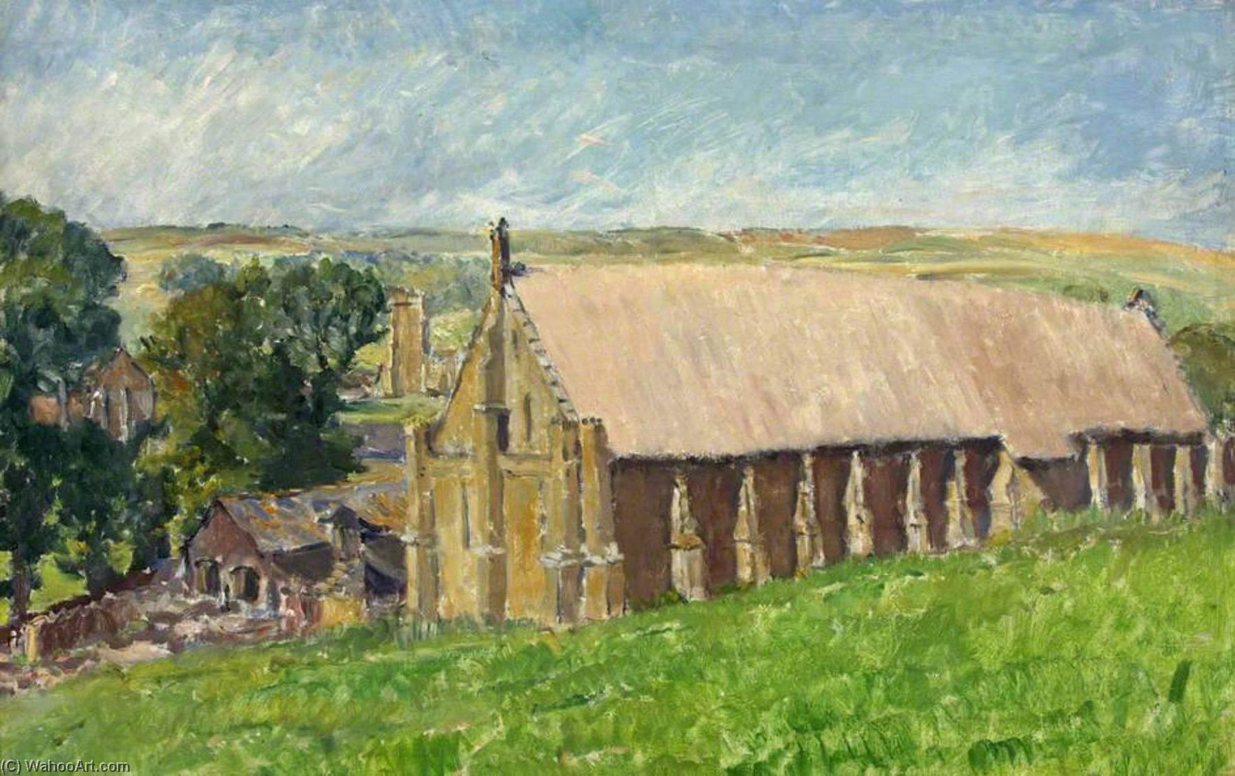 Wikioo.org - The Encyclopedia of Fine Arts - Painting, Artwork by Paul Ayshford Methuen - Abbotsbury Barn