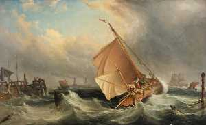 A Barge off Deal in Stormy Weather
