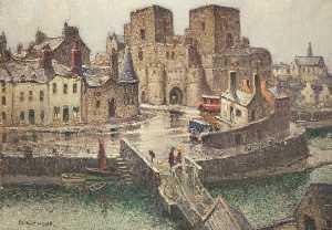 Castle Rushen from the Bridge House