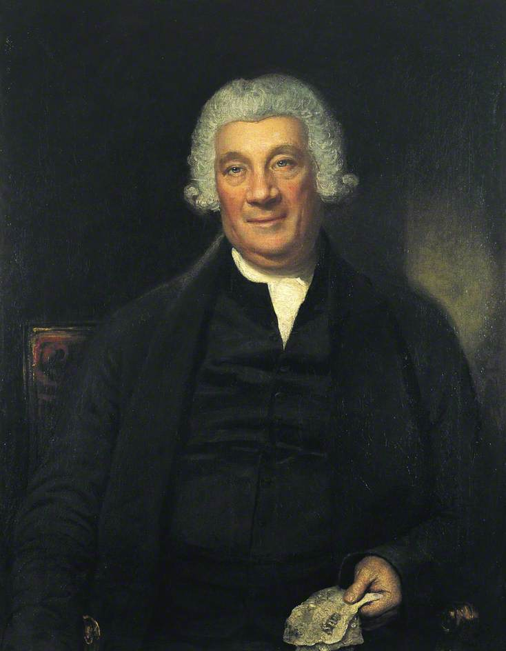 Wikioo.org - The Encyclopedia of Fine Arts - Painting, Artwork by Samuel Drummond - Abraham Newland (1730–1807), Chief Cashier of the Bank of England (1782–1807)