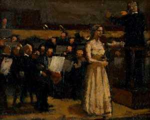 Kathleen Ferrier at a Concert