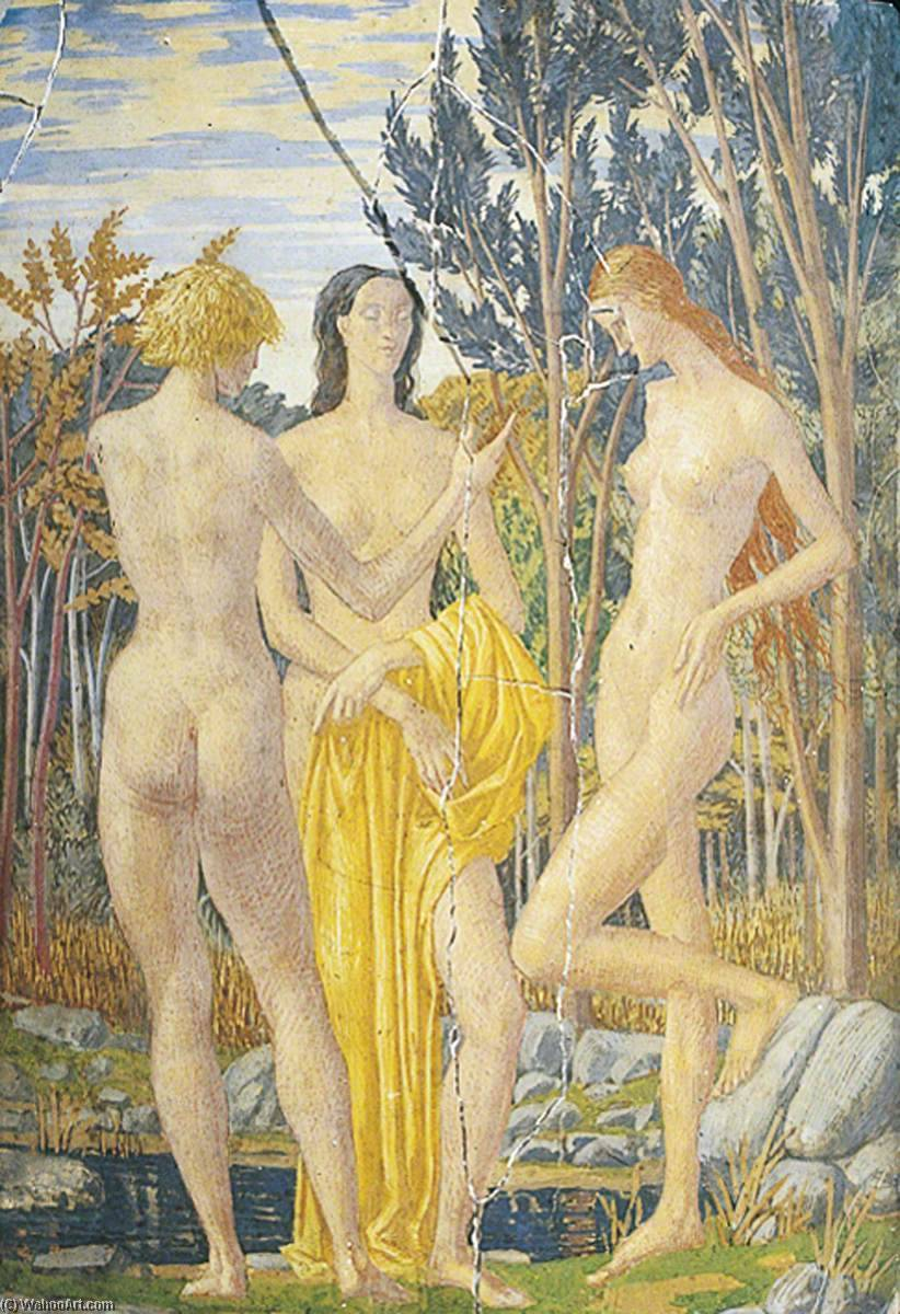 Wikioo.org - The Encyclopedia of Fine Arts - Painting, Artwork by Harry Morley - The Dryads