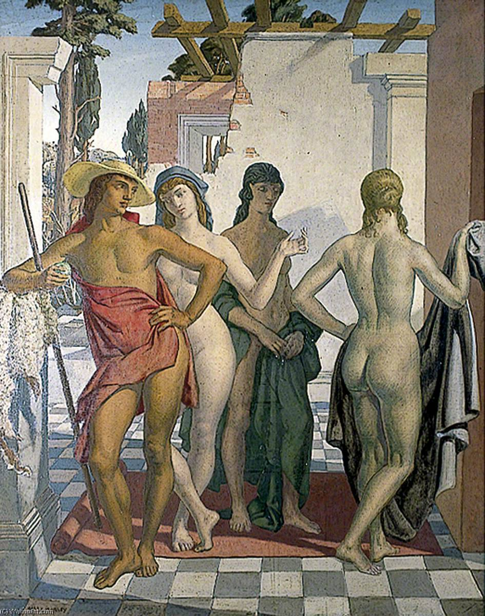 Wikioo.org - The Encyclopedia of Fine Arts - Painting, Artwork by Harry Morley - The Judgement of Paris