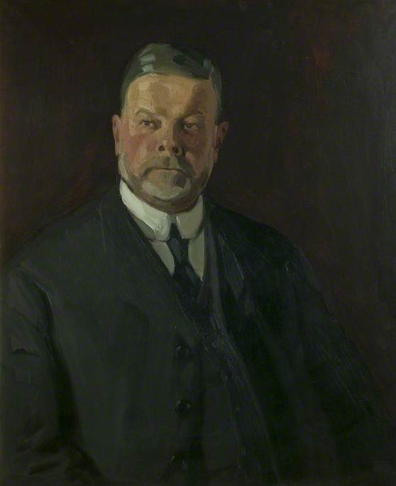 Wikioo.org - The Encyclopedia of Fine Arts - Painting, Artwork by Harry Morley - Arthur Richard Johnson (1854–1918), Co Founder of Hawley and Johnson