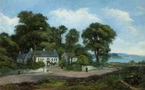 A Roadside Inn View on the Carrickfergus Road