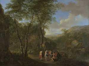 A Landscape with the Judgement of Paris