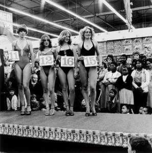 Saturday Morning at the Hypermarket Semi final of the Miss Lovely Legs Competition, Boksburg - David Goldblatt