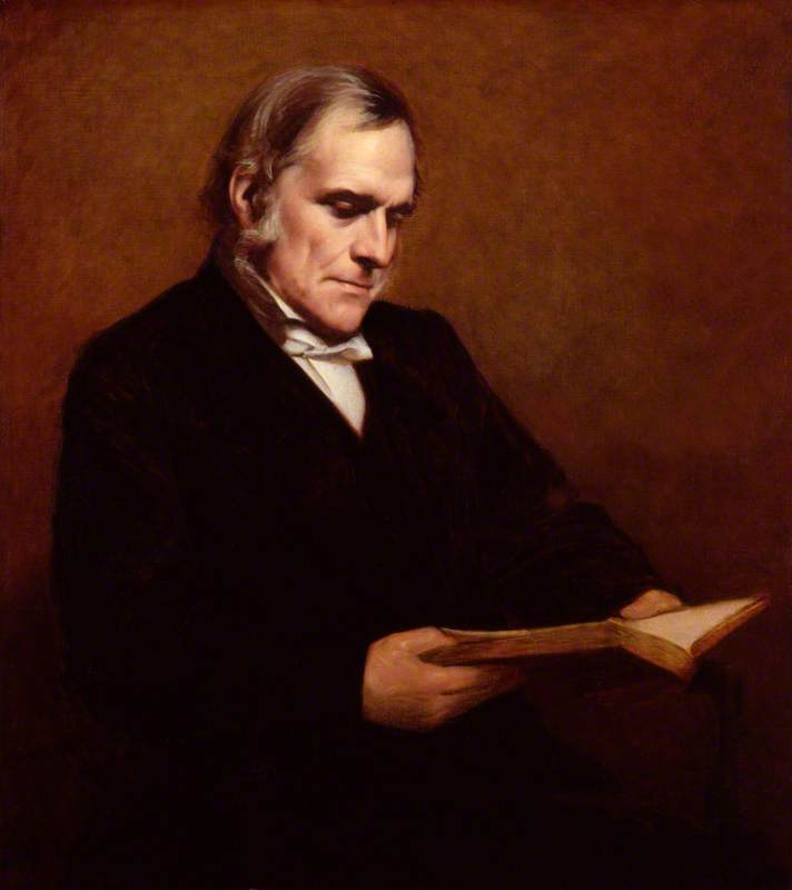 Wikioo.org - The Encyclopedia of Fine Arts - Painting, Artwork by Samuel Laurence - (John) Frederick Denison Maurice