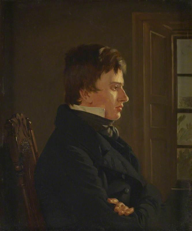 Wikioo.org - The Encyclopedia of Fine Arts - Painting, Artwork by Thomas Sword Good - Thomas Sword Good (1789–1872), Painter in Berwick, Self Portrait