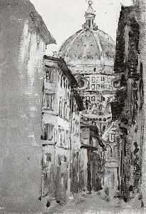 Firenze the Duomo, (painting)