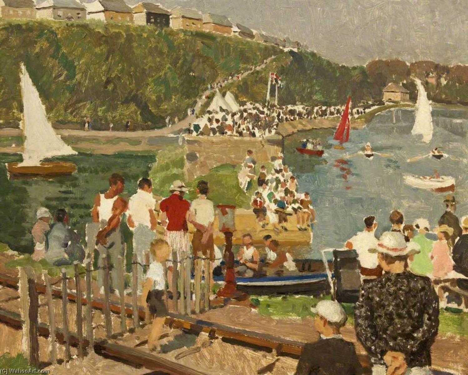 Wikioo.org - The Encyclopedia of Fine Arts - Painting, Artwork by Alethea Garstin - Regatta Day