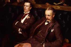 Joe Chamberlain Arthur James Balfour, 1st Earl of Balfour