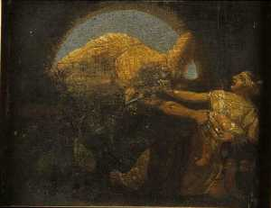 Scène du martyre des Innocents