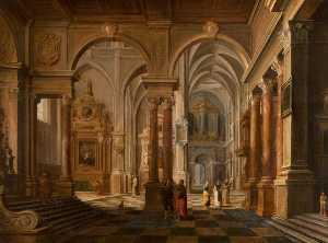 An Imaginary Church Interior