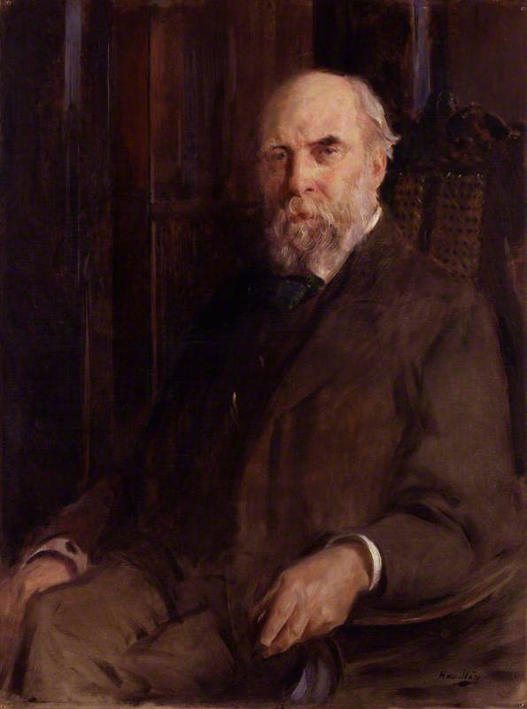 Wikioo.org - The Encyclopedia of Fine Arts - Painting, Artwork by John Mclure Hamilton - William Cosmo Monkhouse
