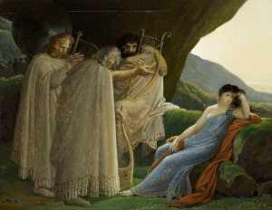 Malvina Luto la muerte de su novio oscar