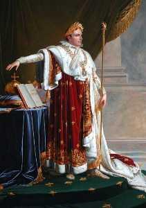 Napoleón yo  1769–1821   cómo  coronación  batas
