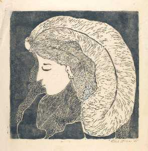 Lady with Plume