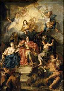 Louis XIV Crowned by Glory