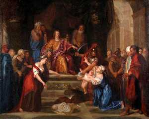 The Judgment of Solomon (small version)