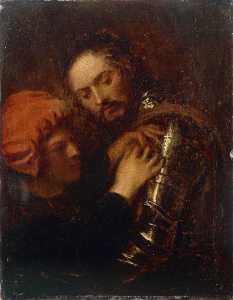 Gaston de Foix Wearing his Armor (after Giorgione)