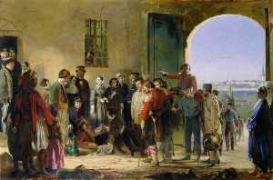 The Mission of Mercy (also known as Florence Nightingale receiving the Wounded at Scutari)