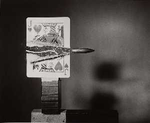 Bullet through Jack of Hearts