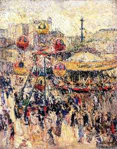 Merry Go Round in Montmarnasse