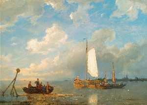 Wikioo.org - The Encyclopedia of Fine Arts - Artist, Painter  Pieter Cornelis Dommersen