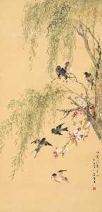 Wikioo.org - The Encyclopedia of Fine Arts - Artist, Painter  Wu Qingxia