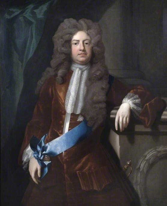Wikioo.org - The Encyclopedia of Fine Arts - Painting, Artwork by Michael Dahl - Charles Montagu (1661–1715), 1st Earl of Halifax, One of the Founders of the Bank of England