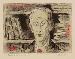 Portrait of Lucien Goldschmidt