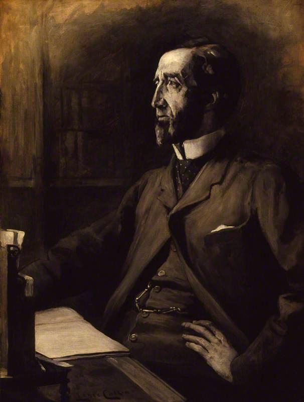 Wikioo.org - The Encyclopedia of Fine Arts - Painting, Artwork by Lance Calkin - Arthur Wellesley Peel, 1st Viscount Peel