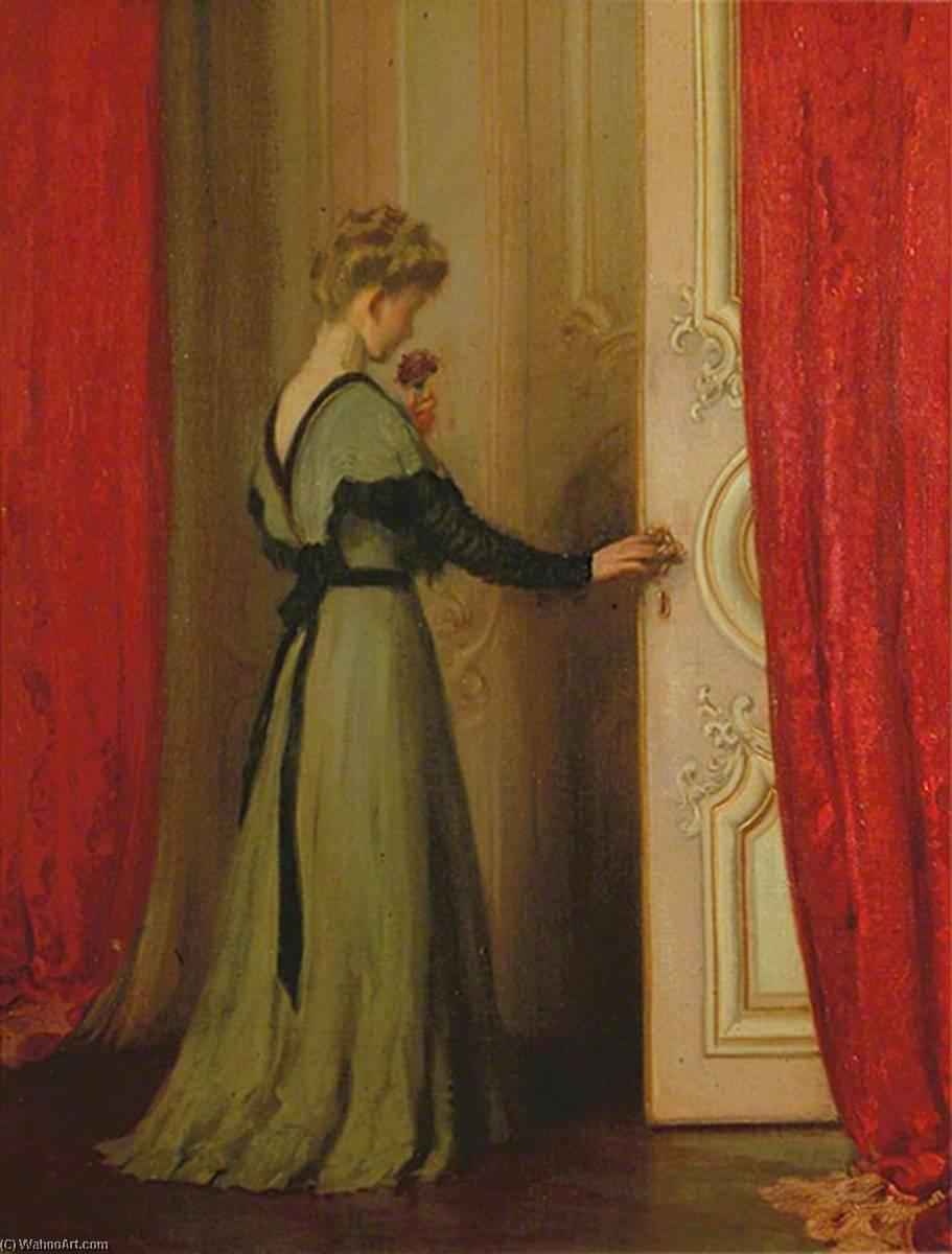 sconosciuto signora - Louis Ginnett | Wikioo.org – L'Enciclopedia delle  Belle Arti