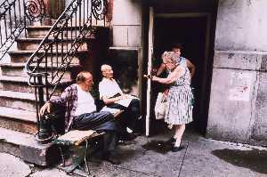 Old New York Lower East Side, Manhattan