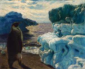 Emperor Penguin, Admiralty Inlet Snow Hill, Antarctic