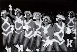 Smiley High School Pantherettes