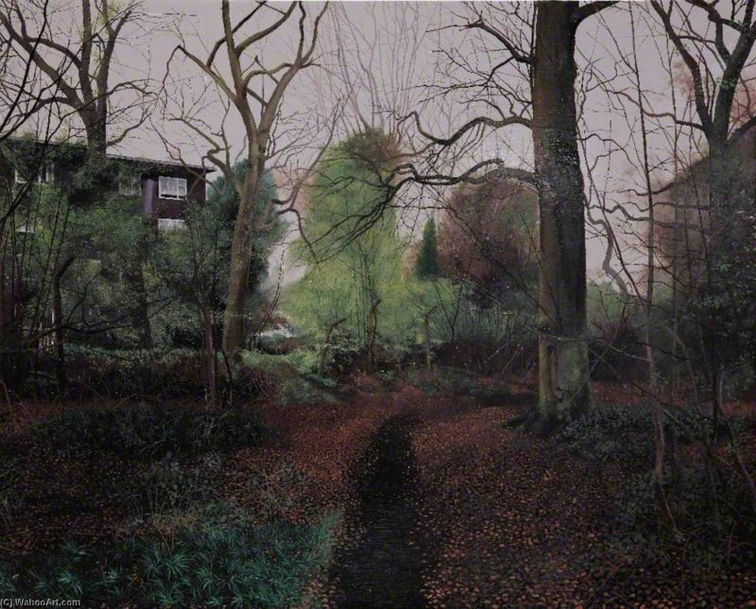Wikioo.org - The Encyclopedia of Fine Arts - Painting, Artwork by George Shaw - Scenes from the Passion The Path to Pepys Corner