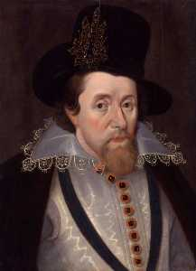 King James I of England and VI of Scotland (copy after an original from c.1606)