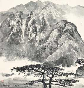 Scenery of Mount Jinggang