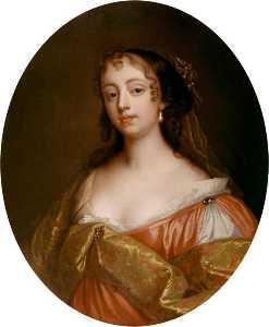 Elizabeth Hamilton, Countess de Gramont (copy after an original of c.1663 by Peter Lely)