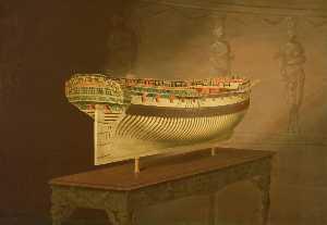 A Model of HMS 'Enterprise'